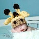 Giraffe Hat 3