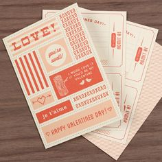 DIY - Valentines Day Coupons - Free PDF Printable