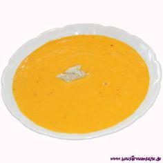 Karotten-Kokos-Suppe pikant abgeschmeckt, ist unsere Karotten-Kokos-Suppe ein schnell gemachter Hochgenuss vegetarisch glutenfrei Orange, Fruit, Food, Carrots, Glutenfree, Essen, Meals, Yemek, Eten