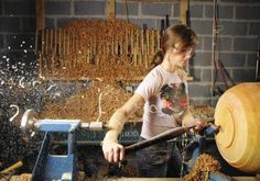Woodturner Ashley Harwood gives fallen trees a second life as artful bowls, ornaments and even earrings.