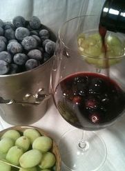 Frozen grapes for your wine?