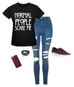 """""""Untitled #16"""" by reddbun on Polyvore featuring Topshop, Vans, Dagmar and ASOS"""