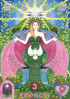 Sarah Magdalene Tarot - If you love Tarot, visit me at www.WhiteRabbitTarot.com