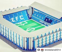 Goodison Park by @brickstand2014  #efc  #everton #footballshirtcollective