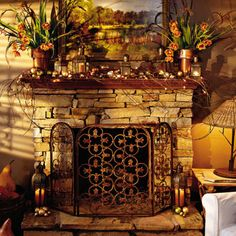 Creative Ideas for Your Mantel Mantels Rustic country decor and