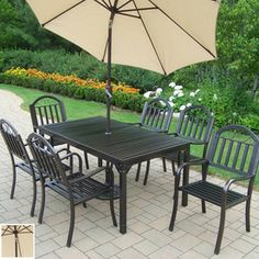 Dining sets Lowes and Patio on Pinterest