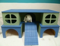 NEW LARGE DELUX 2 STOREY PLAY TUNNEL /SHELTER FOR  GUINEA PIG/SMALL  RABBIT    in Pet Supplies, Small Animal Supplies, Exercise & Toys   eBay!
