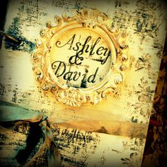 YEP! I ordered one     Fairytale Wedding Guestbook Shabby Chic Fairy tale by ShabbyScrap, $100.00