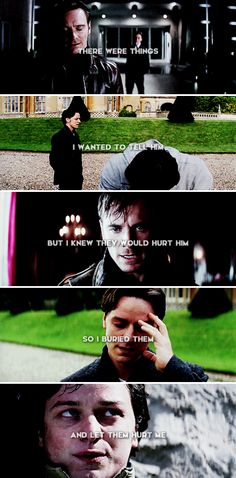 There were things I wanted to tell him but I knew they would hurt him so I buried them and let them hurt me. #marvel