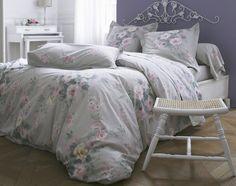 linge de lit fleurs anciennes #becquet