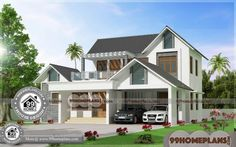 3 Bedroom House Plans Indian Style Cheap Two Storey Homes Free Low Cost House Plans, Free House Plans, Simple House Plans, Modern House Plans, 2 Storey House Design, House Front Design, Small House Design, House Plans With Pictures, House Design Pictures
