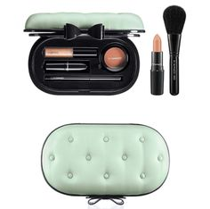 MAC Sinfully Chic face kit (includes powder blush, lipstick, lipgloss, eyeliner and blush brush), $70, at nordstrom.com