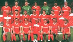 Squad picture for the season - LFChistory - Stats galore for Liverpool FC! Liverpool Fc, Liverpool Players, Liverpool Football Club, Liverpool Legends, Squad Pictures, Squad Photos, Team Photos, Kenny Dalglish, Classic Football Shirts
