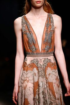 Valentino Spring 2015 RTW - Look 65 - detail. this dress, and this collection in general, make me want to give up as a designer.