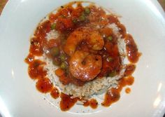 taisen's spicy shrimp sauce over rice Recipe -  How are you today? How about making taisen's spicy shrimp sauce over rice?