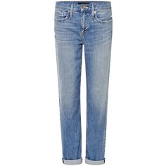 Genetic Los Angeles Gia High Rise Boyfriend Jeans ($228) ❤ liked on Polyvore
