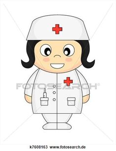 krankenschwester Große Clipart Grafik anschauen