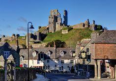 The Square, Corfe Castle, Wareham, Great Britain