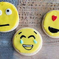 Esses cookies de emoji são incríveis! I