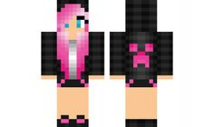 minecraft skin creeper-girl Check out our YouTube : https://www.youtube.com/user/sexypurpleunicorn
