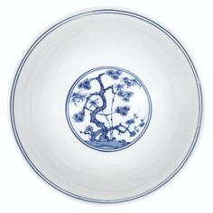 A BLUE AND WHITE 'THREE FRIENDS' STEMBOWL<br>MING DYNASTY, CHENGHUA PERIOD | Lot | Sotheby's