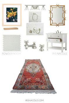 Powder Room Design-I