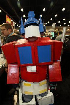 Anime Expo 2012: Optimus Prime by djwu, via Flickr