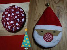 Weihnachtsmann in der Kugel von Stefanie Perlenfee nähen