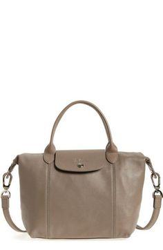 1b2248b5d LONGCHAMP 'Le Pliage Cuir' Leather Handbag. #longchamp #bags #leather #