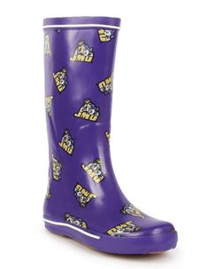 James Madison University - http://www.myfanshoes.com/collections/colleges