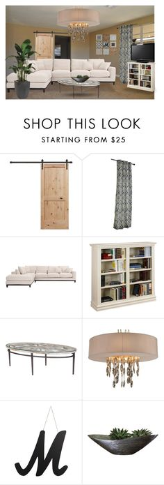 """""""Family room"""" by summer-marin ❤ liked on Polyvore featuring interior, interiors, interior design, home, home decor, interior decorating, Pier 1 Imports, Sony, WALL and Ethan Allen"""