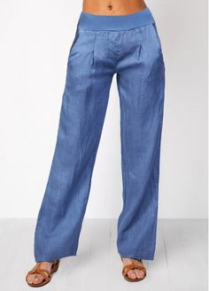8ce378ae Elastic Waist Boyfriend Jeans For Women Denim Blue High Waist Wide  Waistband Jeans Blue Denim Jeans