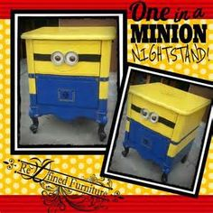 despicable me bedroom night stand