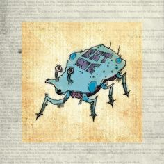 'DECADENZIAN DELISH-CRAB' by Hayes Design on artflakes.com as poster or art print $16.63