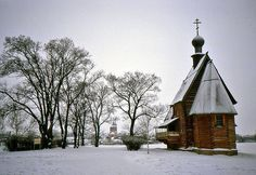 small old Russian Orthodox church from flickr