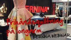 BERNINA Webinar: Frihåndsquiltning på Longarm