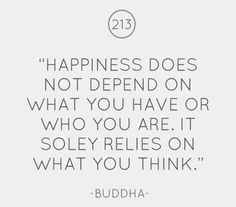 Happiness #Buddha #quotes #think