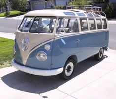 VW Bus 21 window! WOW- would be SO nice to own one of these!