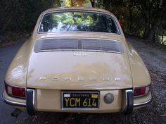 Porsche 912 Black Plate, sandbeige Porsche 912, Porsche Cars, Porsche Classic, Classic Cars, Vintage Porsche, Vintage Cars, Vintage Auto, Sport Cars, Motor Car