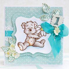 roczek,dla dzieci,dziecko - Kartki okolicznościowe - Akcesoria w ArsNeo Kids Cards, Baby Kids, Scrapbooking, Teddy Bear, Toys, Animals, Decorated Binders, Activity Toys, Animales
