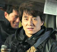On set Robin B Hood ~ Jackie Chan