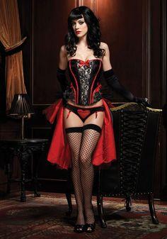 Leg Avenue Raven Corset #corset #burlesque #legavenue #lingerie