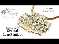 Crystal Lace Pendant - YouTube