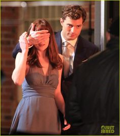 jamie dornan fifty shades of grey | ... Dakota Johnson, Fifty Shades of Grey, Jamie Dornan Photos | Just Jared