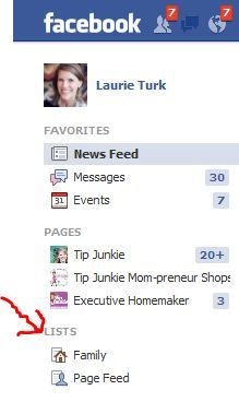 ... this one is for Facebook ... it helped me organize lists so that I didn't miss a status again update again!