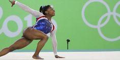 Fenômeno Simone Biles leva segundo ouro na ginástica