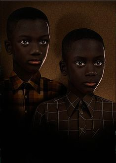 Ruud van Empel | MOOD #1 | portrait painting