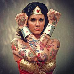 Des célébrités tatouées par Cheyenne Randall Photo