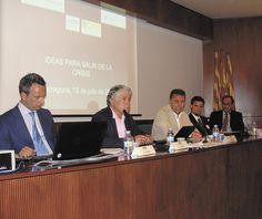 Optimisme empresarial en grans dosis a la sessió a la seu del Col·legi d'Enginyers Industrials de Tarragona.