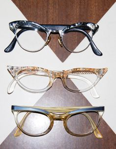 Vintage cat eyes. Love love love.